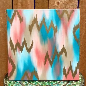 Accessories - Abstract Acrylic 12x12 Canvas Home Decor